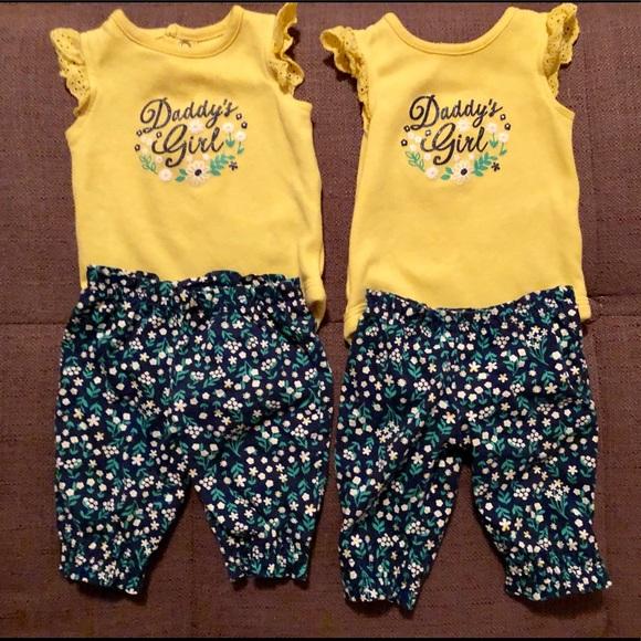 38b2e46e1 Carter's Matching Sets | Newborn Baby Twin Girl Outfits | Poshmark